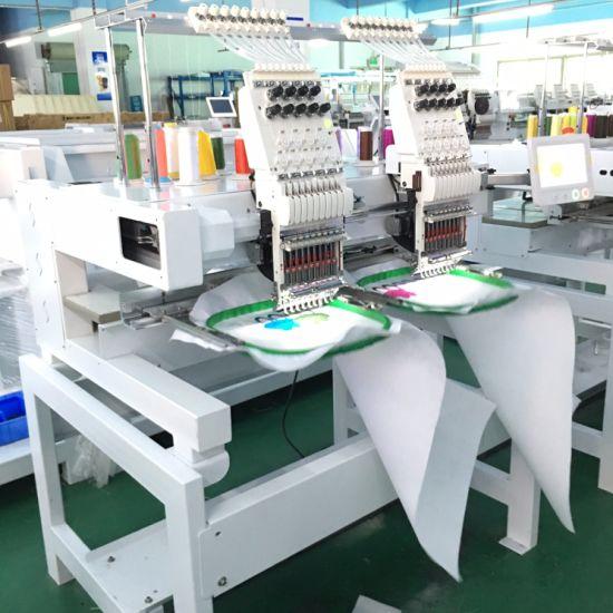 China Hot Sale Used Tajima 2 Head Embroidery Machine Price China