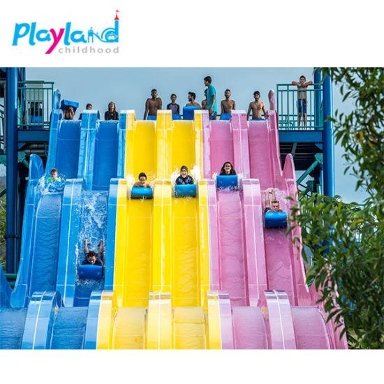 Cheap Price Used Fiberglass Slide Water Play Equipment Factory