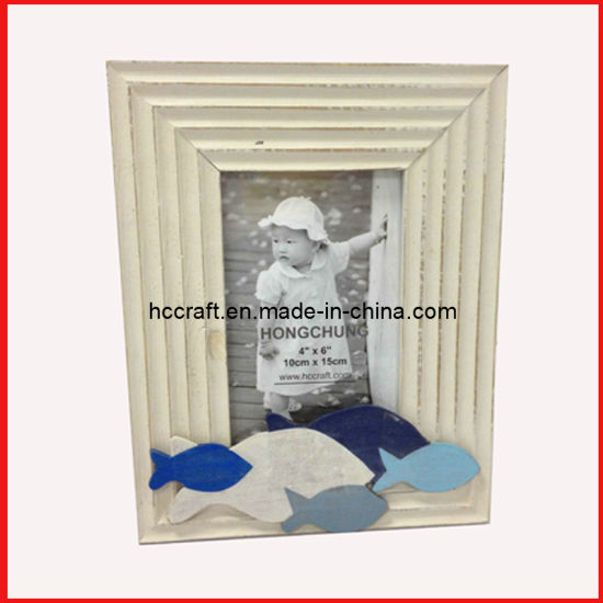 New Distressed Wooden Photo Frame Craft pictures & photos