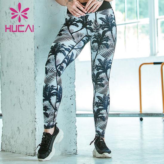 Custom Sexy Fashion Design Fitness Sport Wear Leggings Women Yoga Leggings