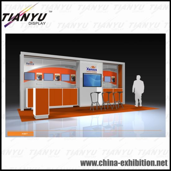 Exhibition Booth Reference : China hot sale advertising exhibition booth