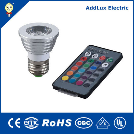Ce UL Saso Remote Control 5W COB GU10 LED Spotlight Bulb Made in China for Home & Business Exterior Lighting From Best Distributor Factory