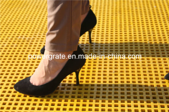 Powergrate Fiberglass FRP Grating for Walkways pictures & photos
