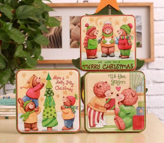 Christmas Cookie Tins pictures & photos