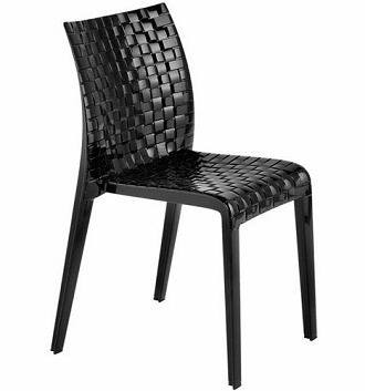 Stackable Acrylic Plastic Chair Dining Living Room Outdoor Furniture
