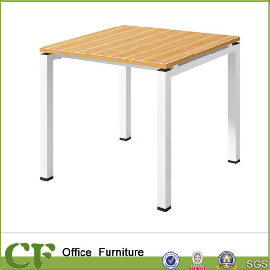 China Modern Design Metal Table Legs Wooden Square Conference Table - Metal conference table legs