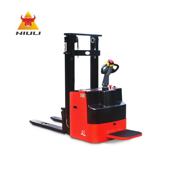 Full Electric Stacker Approved CE Certification