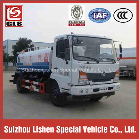 Carbon Steel 8000L Water Tanker Truck pictures & photos