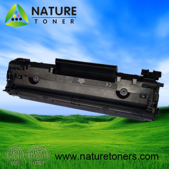 Compatible Black Toner Cartridge CF283A for HP Laserjet M125, M127