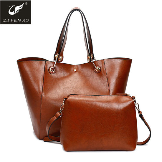 New Arrival Fashion European Style Handbag Big Capacity Ladies Tote Bag pictures & photos