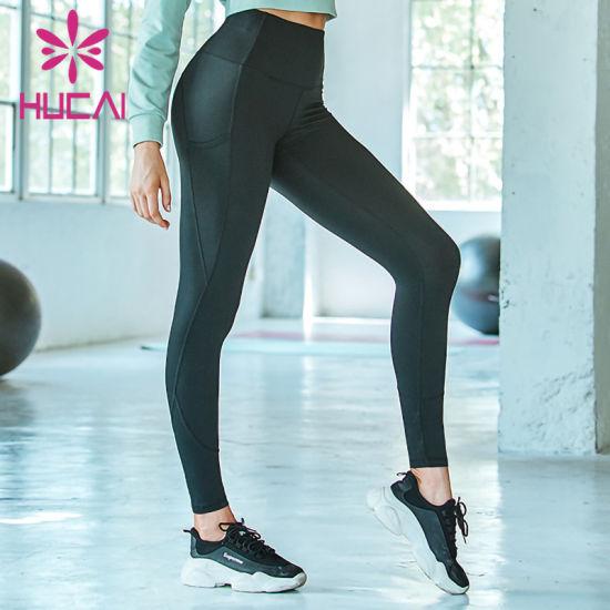 Wholesales High Waist Sexy Yoga Fitness Sport Wear Leggings for Women