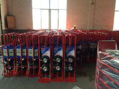 Factory Price Ht1805 200kg Hand Trolley with Pneumatic Tyres pictures & photos