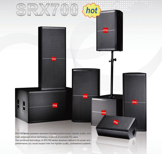 Srx700 Series PA Sound System Professional Speakers