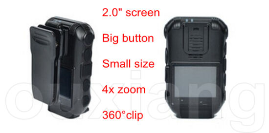 Wearable Camera IR Night Vision GPRS Tracking Police Camera Recorder pictures & photos