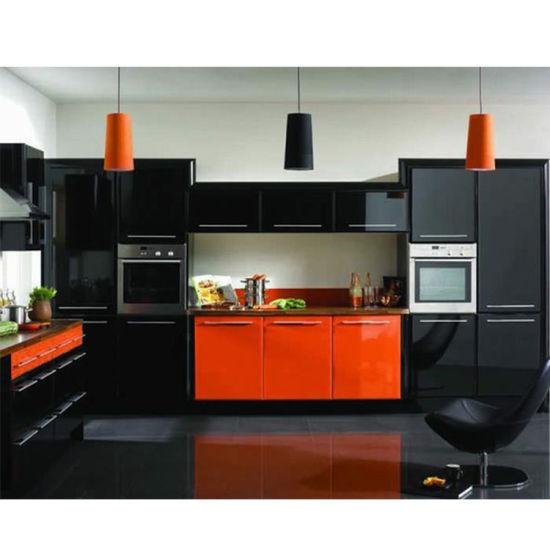 China White Fully Assembled Kitchen, Assembled Kitchen Pantry Cabinet