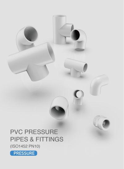 Era Plastic/PVC DIN Standard Dvgw Certificate Pressure Pipe Fitting DIN ISO1463 Pn10 Pipe