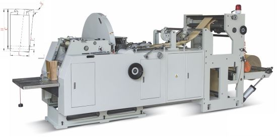 High Speed Automatic Paper Bag Making Machine