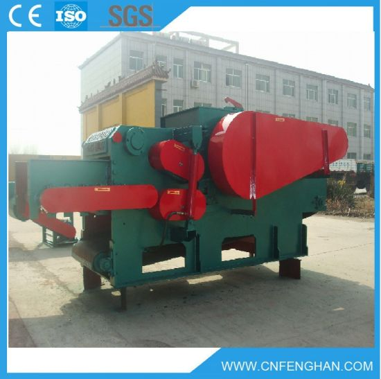 Ly-316 10-15 T/H Electric Wood Log Drum Chipper Machine for Sale pictures & photos