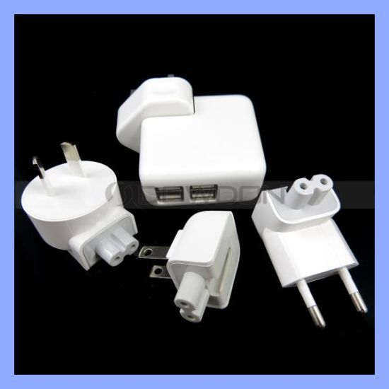 Android 4 USB Port Home Travel Dock AC Adapter Us UK EU Au Plug Wall Fold Charger