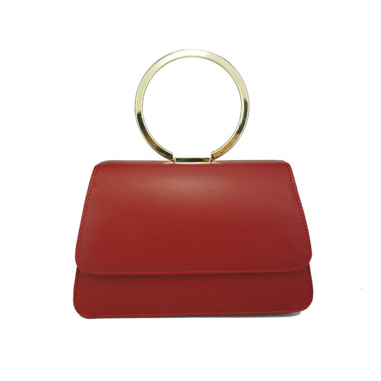 The Newest Fashion Designer Circle Handle Lady Handbag