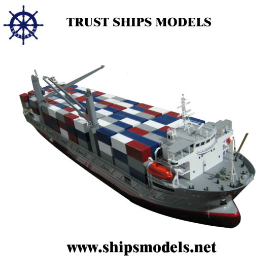 2014 Miniature Container Ship Model