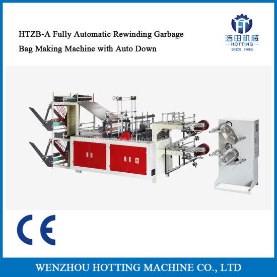 Automatically Change Garbage Rolling Bag Making Machine