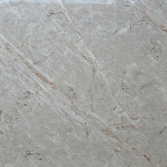 China French Light Grey Travertine Polished Marble Biltmore