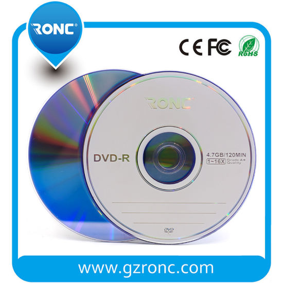 China Suppliers OEM Logo 4.7GB 1-16X 120min Blank DVD pictures & photos