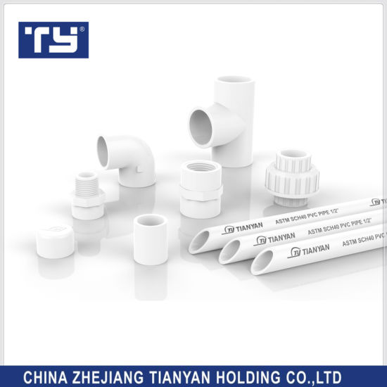 Ty Brands All Size Of Astm Sch40 Standard Pvc Plastic Water Supply Pipe Joint Ings