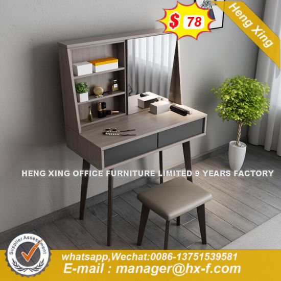 Wood Cabinet  Makeup Carboard with Chair and Mirror Dresser (HX-8ND9044) pictures & photos