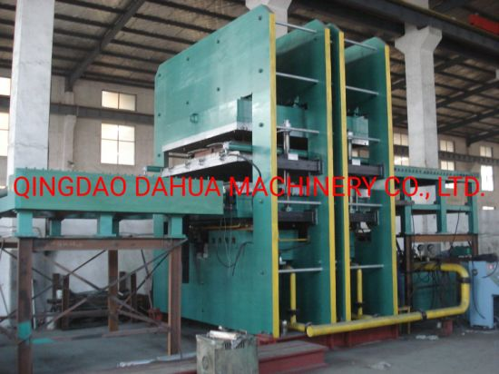 Frame Type Rubber Vulcanizing Press for Making Stable Mats