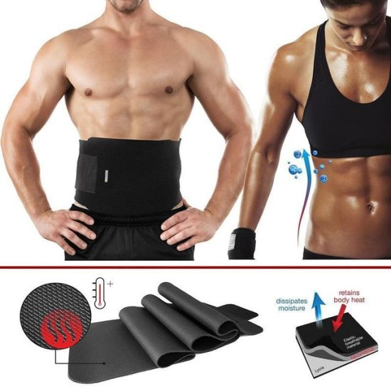 47ee91e75e ... Burner Stomach Shapers. Women Men Waist Trainer Cincher Belt Fitness Body  Shaper Slimming Belt Shapewear Waist Cincher Corset Fat