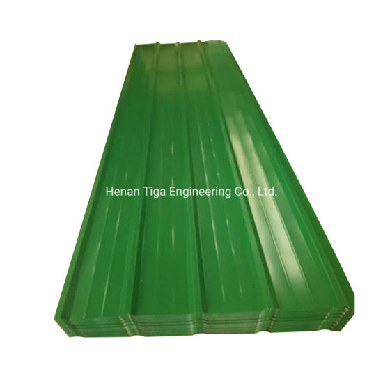 PPGI PPGL Trapezoidal Corrugated Galvanized Steel Roof Tile pictures & photos