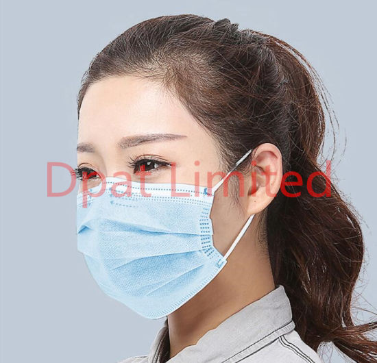 Blue Earloop Pleated 3 Ply Face Medical Procedure Disposable Surgical Safety Maskget Latest Price