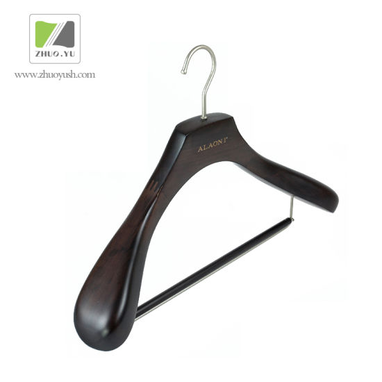 High Quality Vintage Wood Suits / Clothing Hangers with Bar