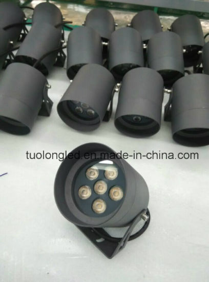 High Power 6W LED Wall Light Outdoor up Lighting with Spike IP65 Wall Lighting pictures & photos