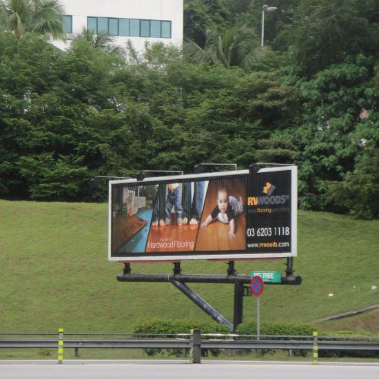 Outdoor Space Aluminum Frame Stable Trivision Billboard pictures & photos