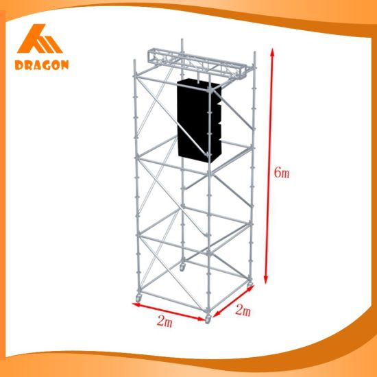 Hot-Sale Single Width Climb Ladder Scaffolding, Metal Frame Scaffolding