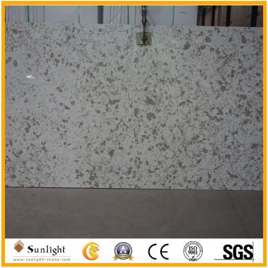 Black Artificial Engineered Quartzite Stone for Slabs and Countertops pictures & photos