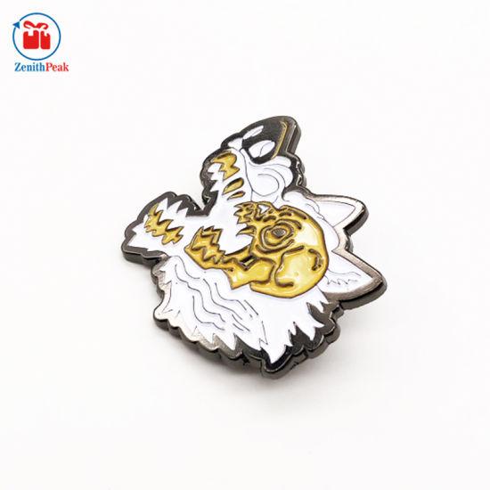 Custom Metal Black Plating Soft Enamel Lapel Pin