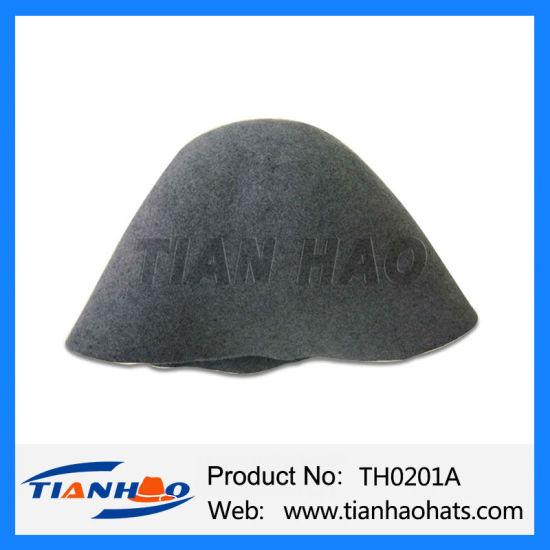 High Quality 100% Australia Wool Felt Hat Cone Hood