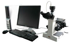 Inverted Trinocular Metallurgical Microscope (SM400) pictures & photos