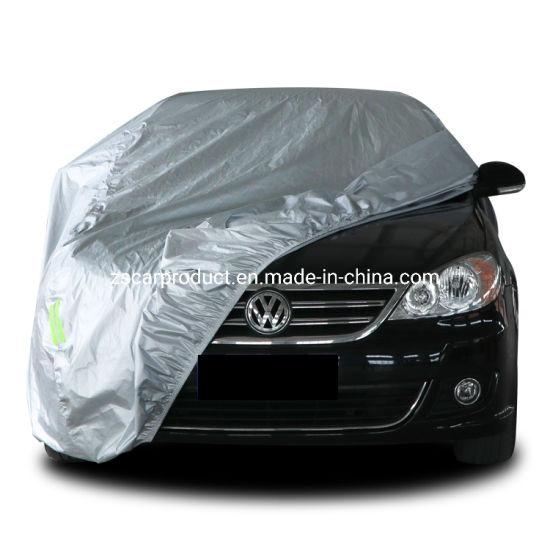 Anti-Rain Waterproof 100% 170t Polyester Car Cover