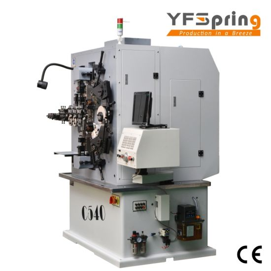 China yfspring coilers c540 multi servos wire diameter 160 400 yfspring coilers c540 multi servos wire diameter 160 400 mm coil spring machine greentooth Choice Image