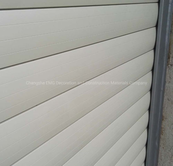Auto Automatic Aluminum Commercial Balcony Roller Shutter Breathable Rolling Shutters Sectional Garage Door