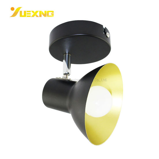 E14 Max40W LED Wholesale Round Black Ceiling Classical Surface Mounted Spot Downlight