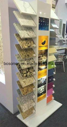 China Floorstanding Metal Tiles Exhibition Display Racks, 2-Way ...