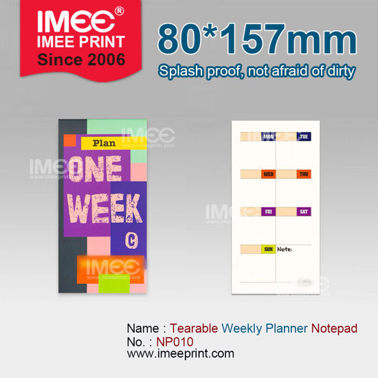 Imee Logo Printed Pattern Shape Size Thickness Customized Memo Notepad Gov School Office Stationery Set