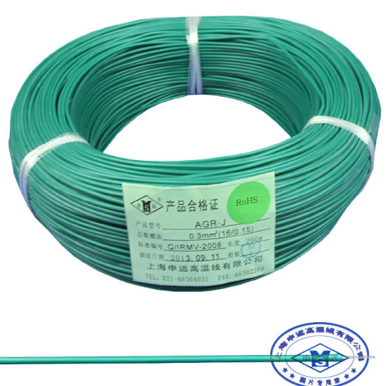 China 300V 150c Flexible Copper Stranded Silicone Heating Wire ...