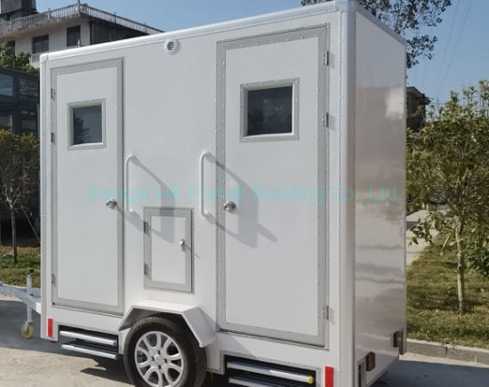 Trailer Toilet with Waste Tank. pictures & photos